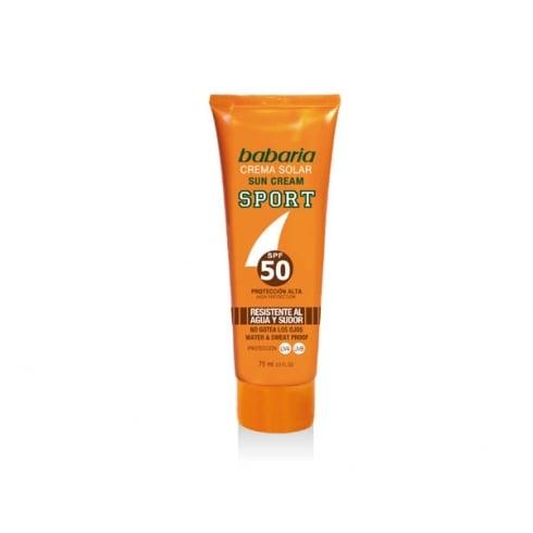 Babaria Sport Sun Cream SPF50 75ml