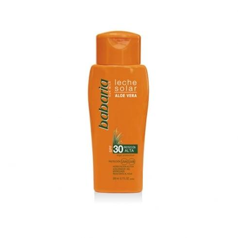 Babaria Sun Milk Aloe Vera SPF30 200ml