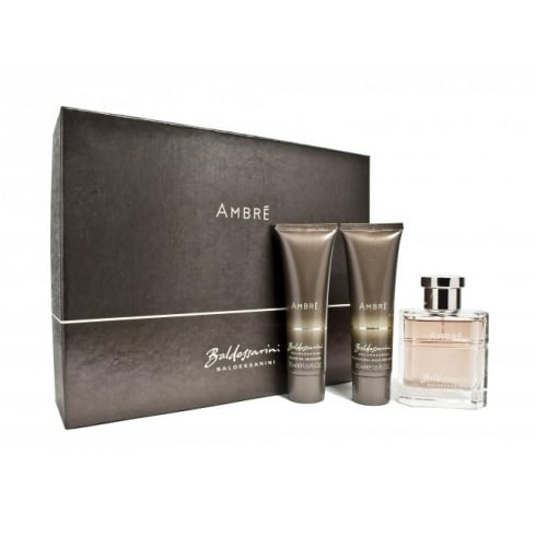 Baldessarini Ambre EDT 50ml & S/G 50ml & As Balm 50ml