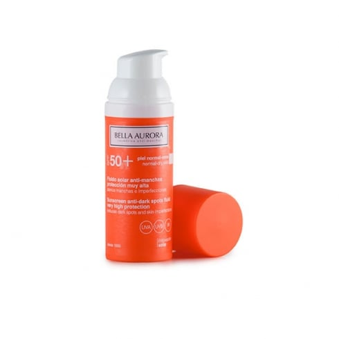Bella Aurora Anti-Dark Spot Fluid Sunscreen SPF50 50ml