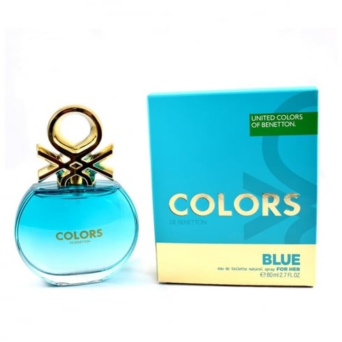 Benetton Colors for Her Blue 80ml EDT Spray