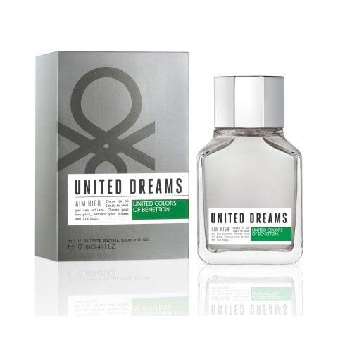 Benetton United Super Dreams Aim High M EDT 100ml Special Edition