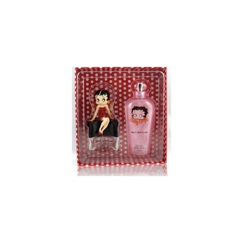 Betty Boop Aint She Cute Gift Set 30ml EDT / 150ml Shimmer Spritz body lotion