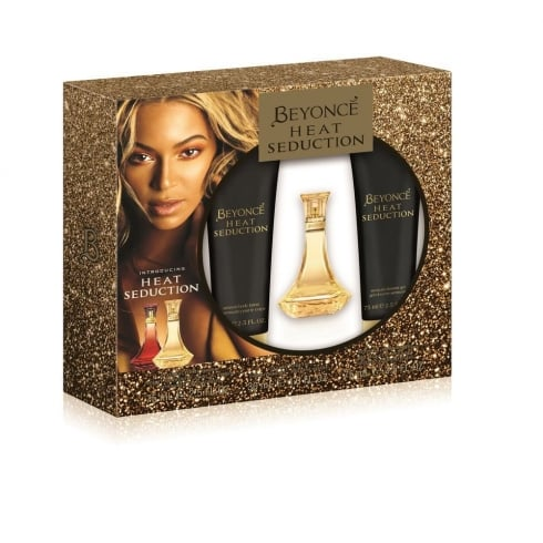 Beyonce Heat Seduction Gift Set - 30ml EDP + 75ml Body Lotion + 75ml Shower Gel