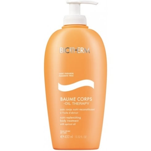 Biotherm Baume Corps Nutri Replenishing Body Treatment With Apricot Oil Dry Skin 400ml
