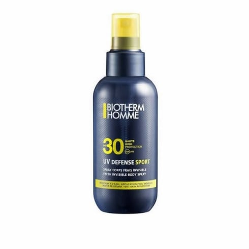 Biotherm Homme Uv Defense Sport SPF30 Invisible Body Spray 125ml