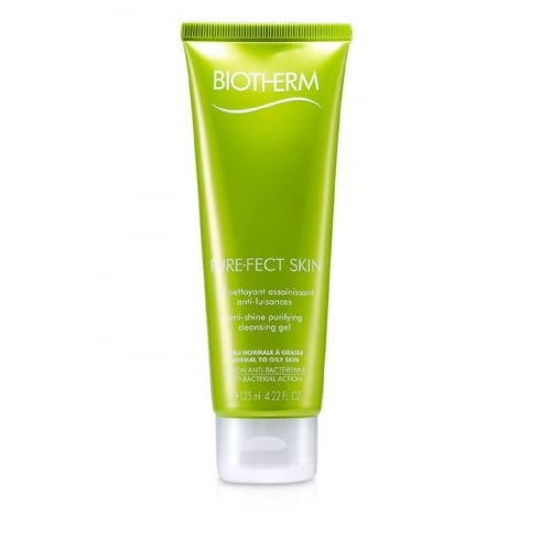 Biotherm Purefect Skin Anti Shine Purifying Cleansing Gel Combination to Oily Skin 125ml