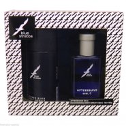 Blue Stratos Gift Set - 50ml Aftershave + 150ml Body Spray