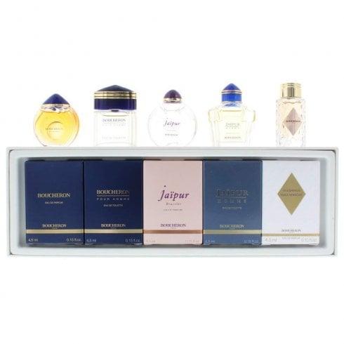 Boucheron 5X 4.5ml Mini Set Boucheron Femme & Homme & Jaipur