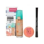 Bourjois BB Bronze Up! Gift Set 30ml BB Bronzing Cream + 2.5g Cream Blush - 02 Glow + 0.8ml Liner Feutree - Black