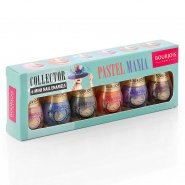 Bourjois Pastel Mania 6 Mini Nail Enamels Set (6 x 3ml)