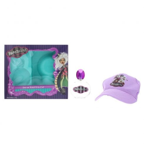 Bratzillaz Glam Get Wicked Set 50ml Edt + Cap