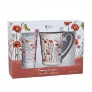 Bronnley Poppy Meadow Hand Cream 100ml & Mug