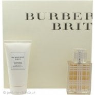 Burberry Brit Woman Gift Set 30ml EDT + 50ml Body Lotion