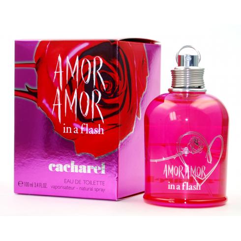 Cacharel Amor Amor In A Flash 100ml EDT Spray