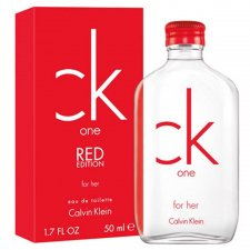 Calvin Klein CK One Red Edition for Her 50ml EDT Spray