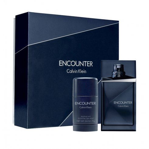 Calvin Klein Encounter Gift Set 100ml EDT + 75g Deodorant Stick