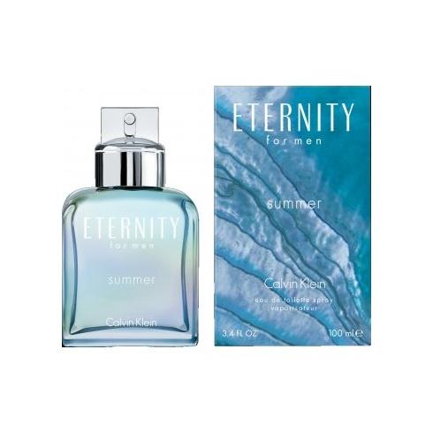 Calvin Klein Eternity for Men Summer 100ml EDT Spray (2013 Edition)