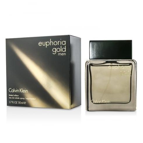 Calvin Klein Euphoria Men Gold EDT 50ml Spray