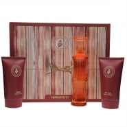 Caribbean Joe Woman Gift Set 100ml EDT + 150ml Body Lotion + 150ml Shower Gel