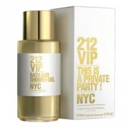 Carolina Herrera 212 VIP 200ml Shower Gel