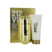 Carolina Herrera 212 VIP for Women Gift Set - 80ml EDP Spray + 100ml Body Lotion