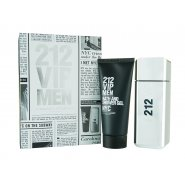 Carolina Herrera 212 VIP Men Gift Set 100ml EDT + 100ml Shower Gel