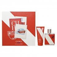 Carolina Herrera Men Sport Gift Set 100ml EDT Spray + 100ml Aftershave Balm
