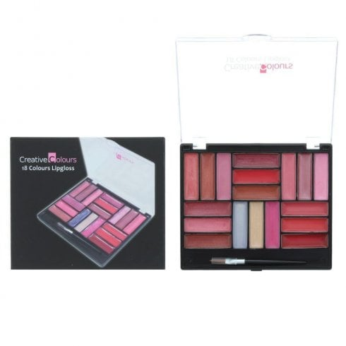Cci Creative Colours. 18 Colour Lipgloss Set