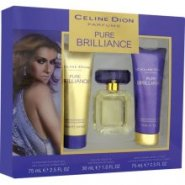 Celine Dion Pure Brilliance 30ml EDT Spray / 75ml Body Spray / 75ml Body Spray