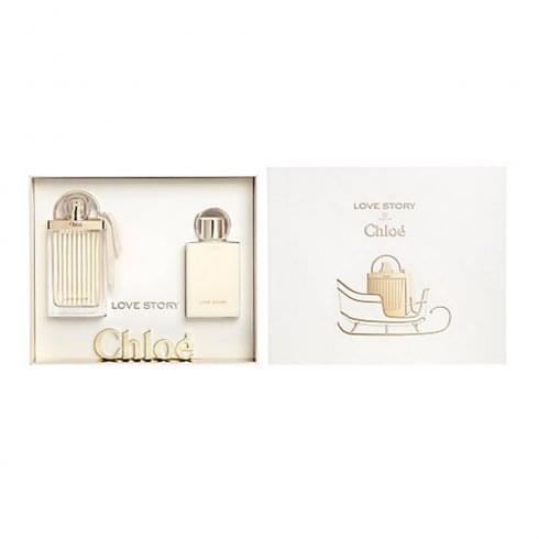 Chloe Chloé Love Story Gift Set 50ml EDP + 100ml Body Lotion