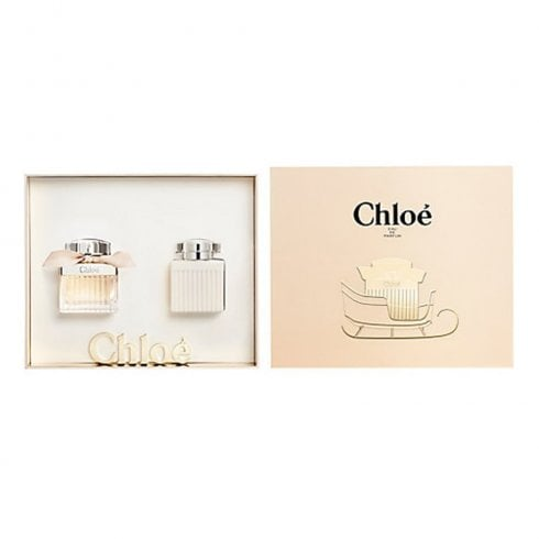 Chloe Chloé Signature Gift Set 50ml EDP + 100ml Body Lotion