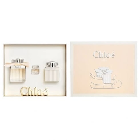 Chloe Fleur De Parfum EDP Spray 75ml Set 3 Pieces 2016