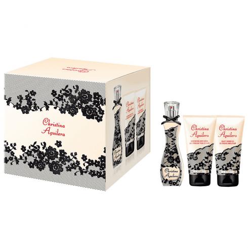 Christina Aguilera Gift Set 30ml EDP + 50ml Shower Gel