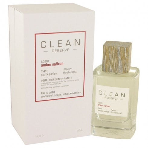 Clean Reserve Amber Saffron 100ml EDP Spray