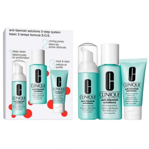 Clinique Anti Blemish Solutions 3 Step Skin Care System