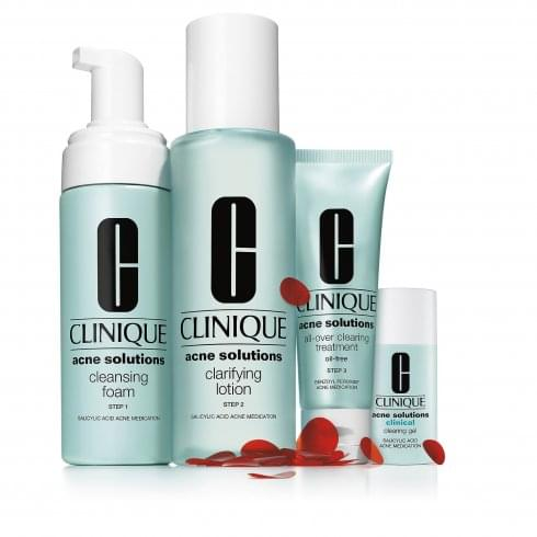 Clinique Anti-Blemish Solutions Concern Kit Black Head Gift Set 30ml Cleansing Gel + 15ml Oil Control Cleansing Mask + 3ml Clinical Clearing Gel