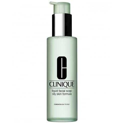 Clinique Cleansing Range Liquid Facial Soap 200ml (Oily Skin)