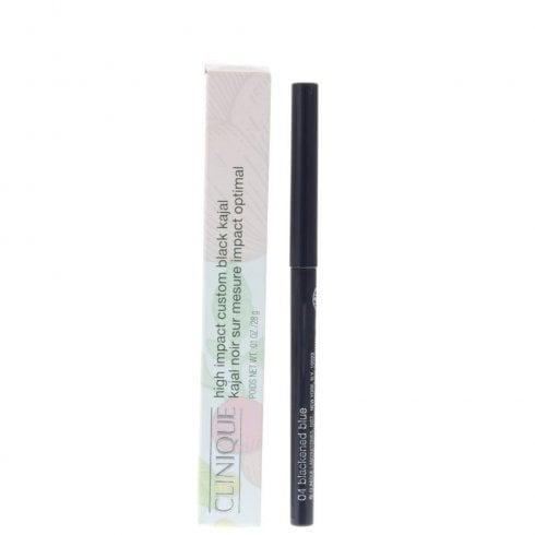 Clinique High Impact Custom Black Kajal Eyeliner #04 Blackend Blue