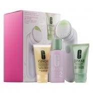 Clinique Sonic 3Step 1/2 Set Foaming Facial Soap 30ml