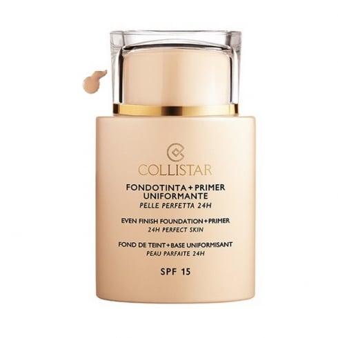 Collistar Even Finish Foundation Plus Primer 24h Perfect Skin SPF15 02 Cameo 35ml