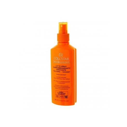 Collistar Speciale Abbronzatura Perfetta Latte Spray SPF10 Superabbronzante Idratante 200ml