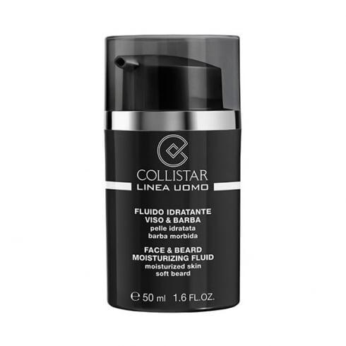 Collistar Uomo Face & Beard Moisturizing Fluid 50ml