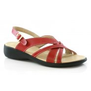 Unze Comfort Women Women Sandals - Red