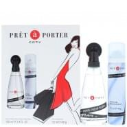 Coty Prêt à Porter Gift Set 100ml EDT + 75ml Deodorant Spray