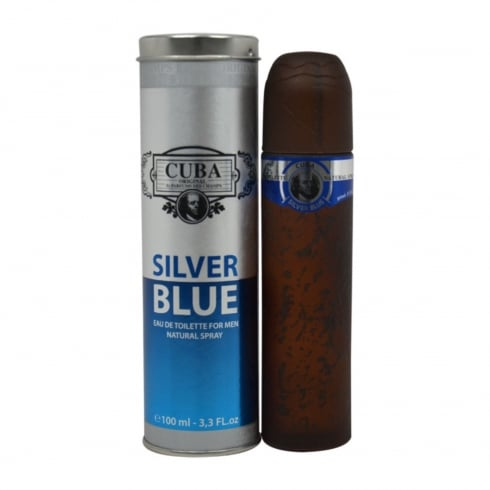 Cuba Silver Blue EDT 100ml Spray