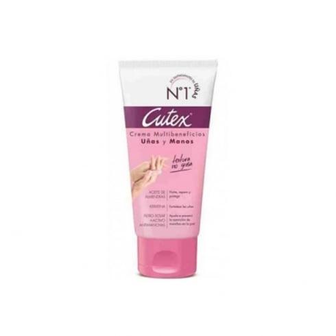 Cutex Hands And Nails Cream Almonds Milk 100ml