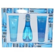 Davidoff Cool Water Woman 100ml EDT/75ml Shower  Breeze/75ml Body Lotion
