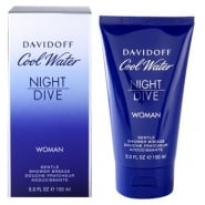 Davidoff Cool Water Women Night Dive 150ml Shower Gel
