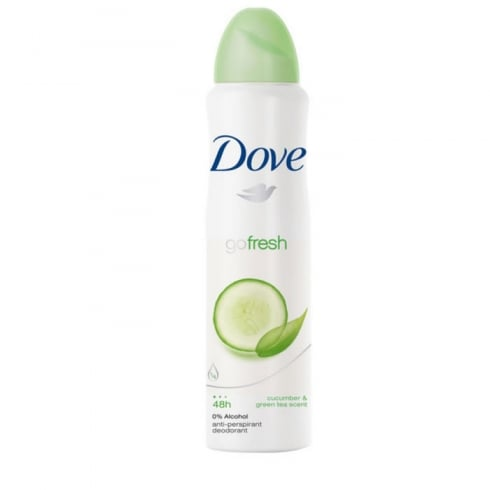 Dove Go Fresh Cucumber And Green Tea Deodorant Spray 200ml